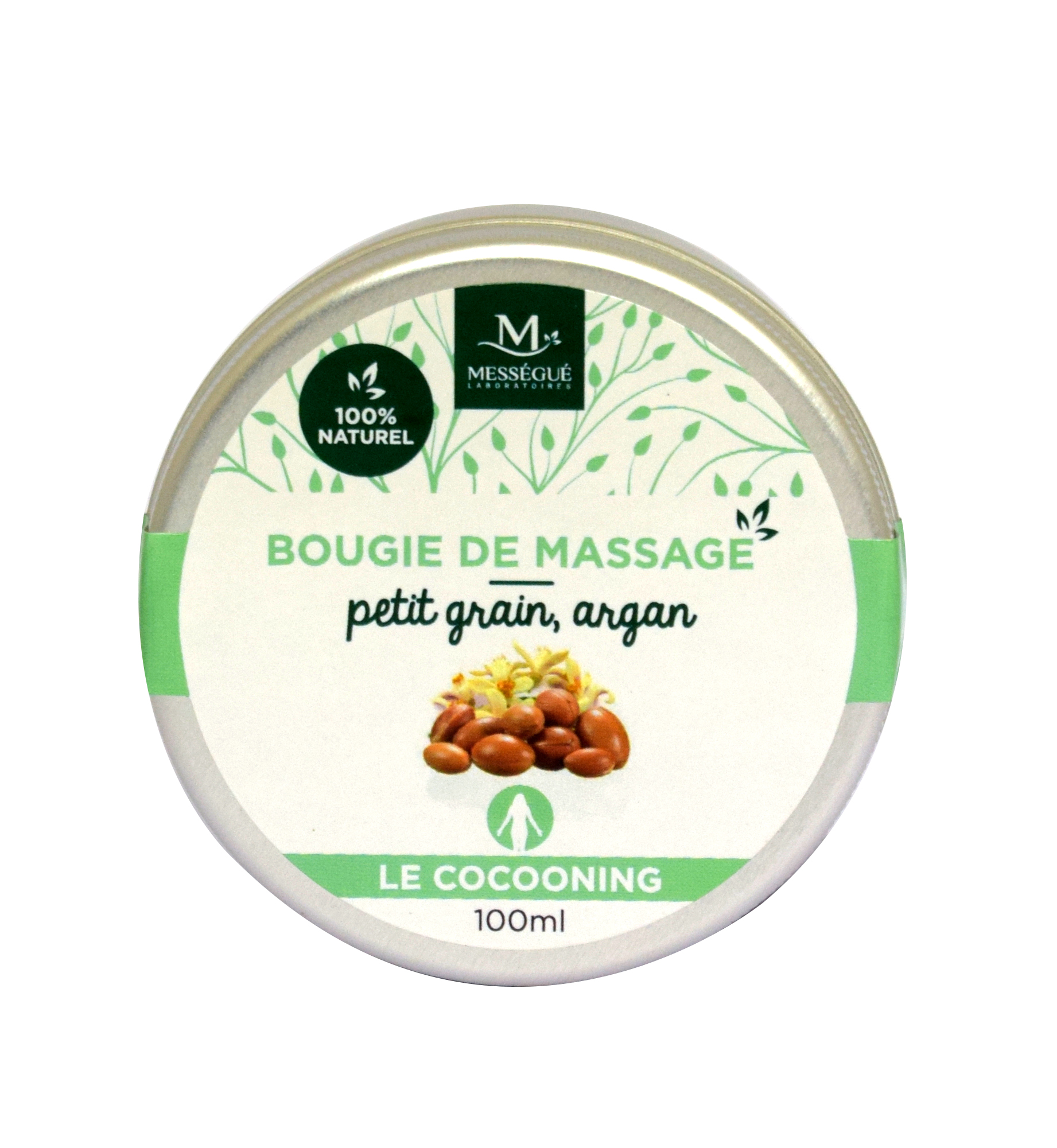 Massagekerze Petitgrain / Argan